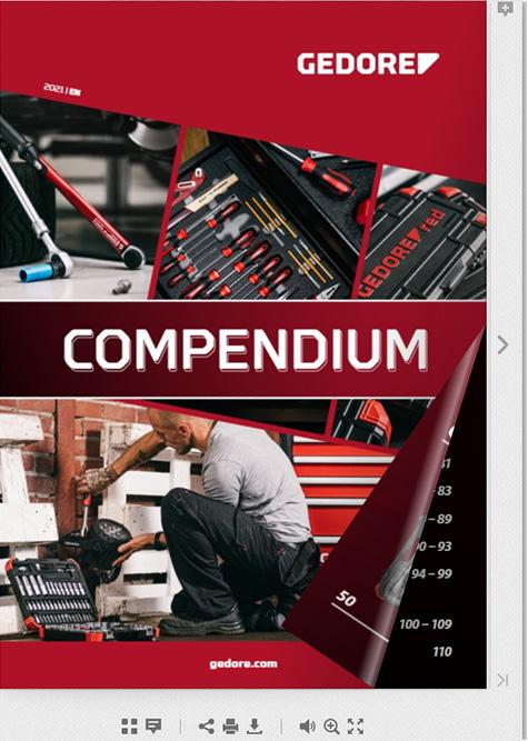 Gedore Red Compendium 2021